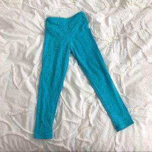 5/$20. LuLaRoe | Turquoise Toddler Leggings